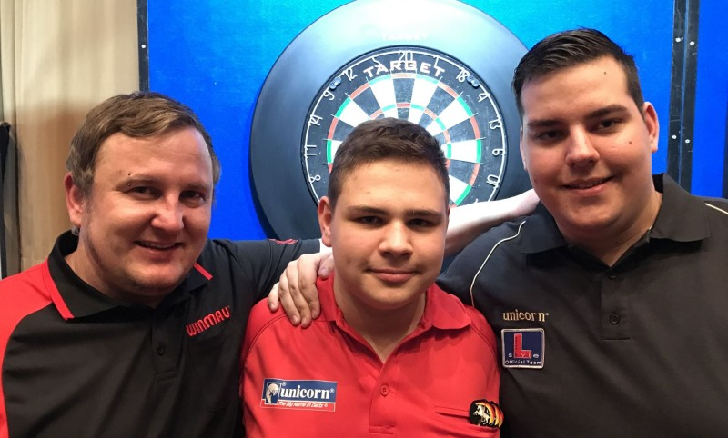 René Berndt, Nico Blum und Marvin Wehder - Die Qualifikanten für die Target Super League Darts Germany 2017