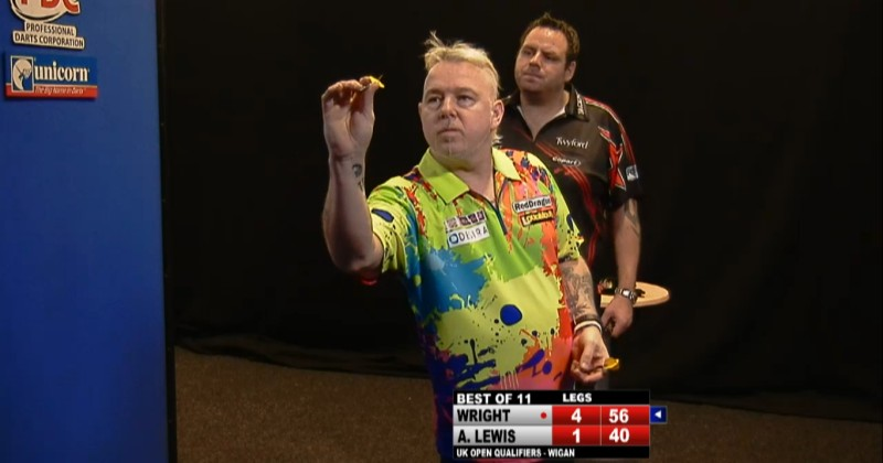 Peter Wright - PDC Pro Tour UK Open Qualifier Tag 1