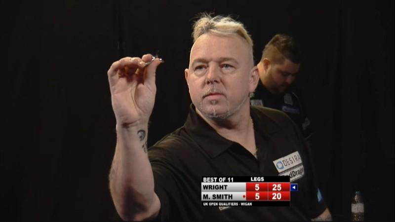 Peter Wright - PDC Pro Tour UK Open Qualifier Tag 3