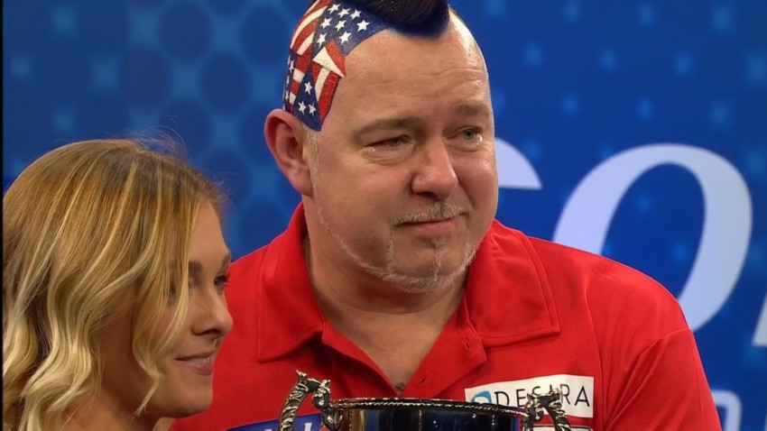 UK Open 2017 Winner Peter Wright