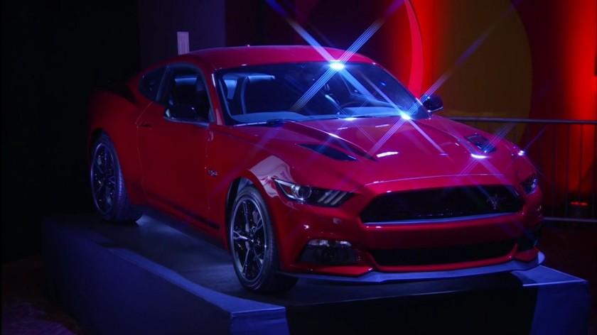 Der neue Ford Mustang von Michael van Gerwen