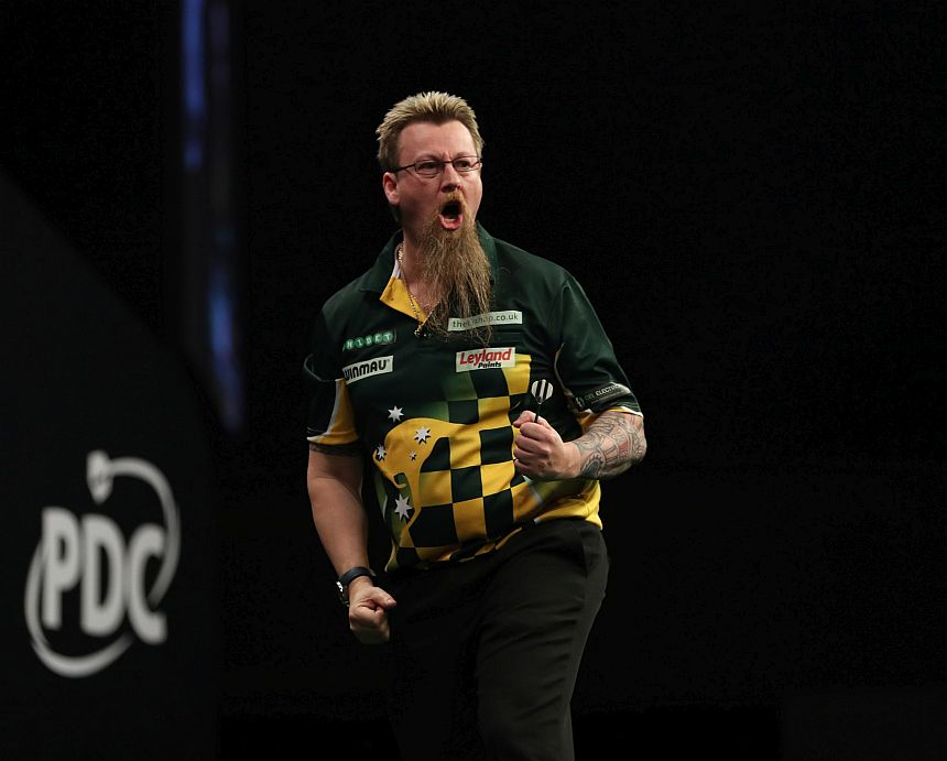 World Grand Prix 2017 - Halbfinale - Simon Whitlok