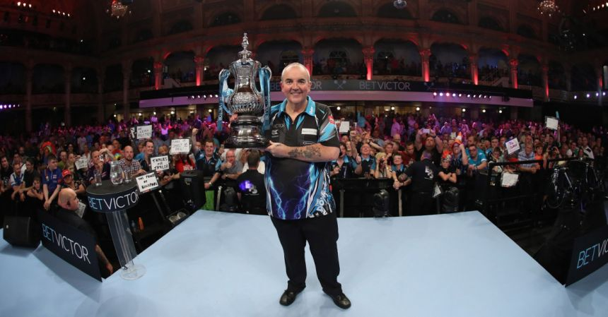 Phil Taylor gewinnt World Matchplay 2017