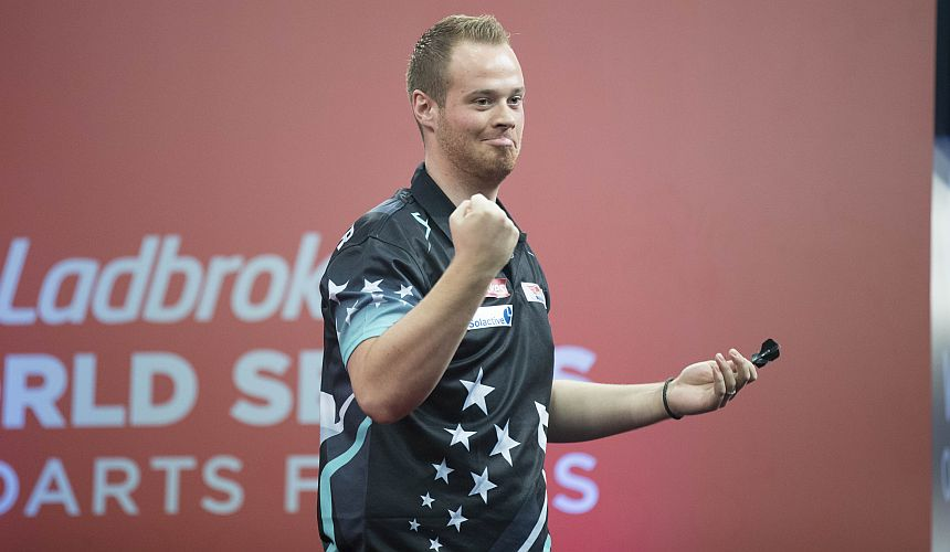 Max Hopp bei den World Series Finals 2017