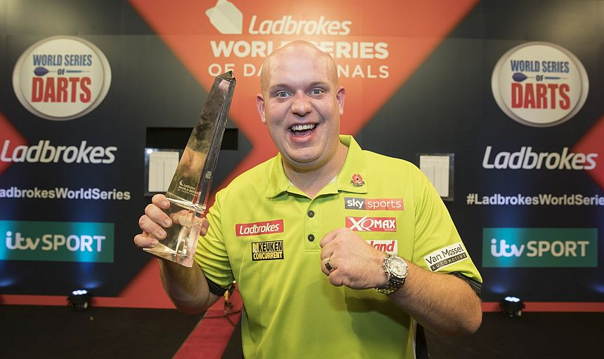 World Series of Darts Finals 2017 - Sieger - Michael van Gerwen