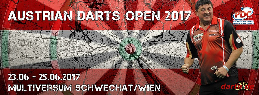 PDC European Tour 2017 Austrian Darts Open Wien