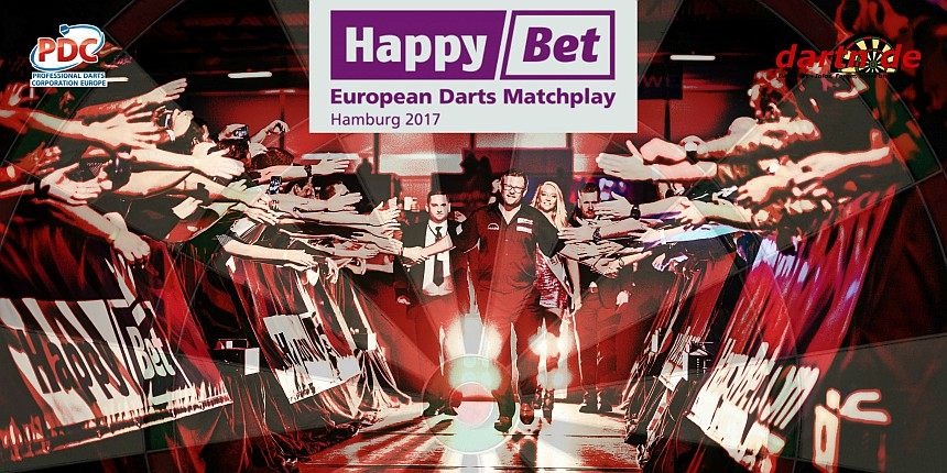 PDC European Tour 2017 European Darts Matchplay Hamburg