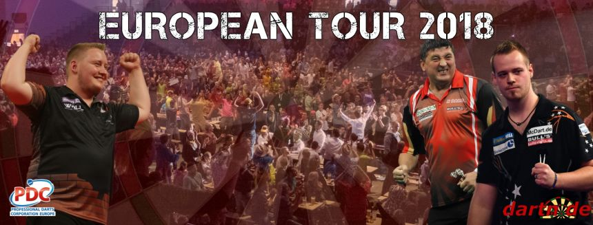 PDC European Tour 2018