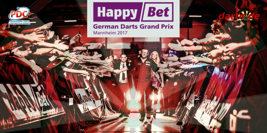 PDC European Tour 2017 German Darts Grand Prix Mannheim