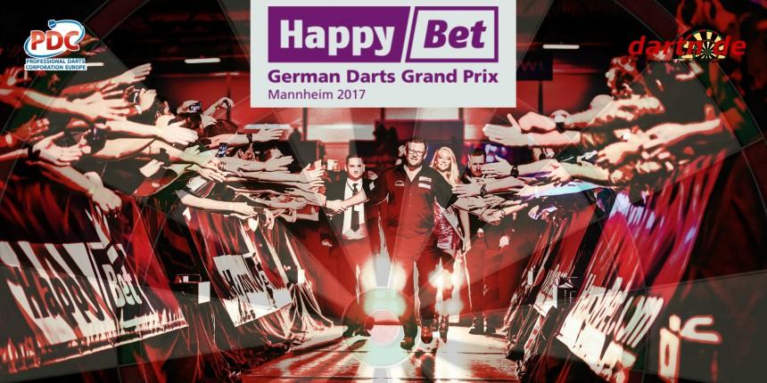 PDC European Tour 2017 German Darts Grand Prix Mannheim