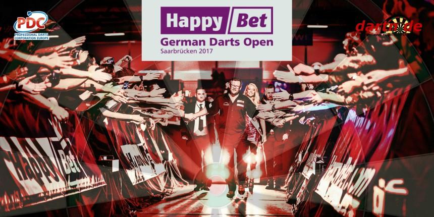 PDC European Tour 2017 German Darts Open Saarbrücken