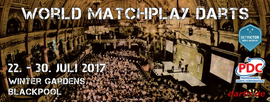 World Matchplay Darts 2017 Winter Gardens Blackpool