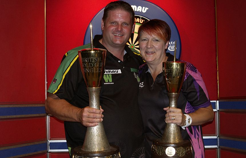 BDO Gold Cup 2018 - Scott Mitchell & Lisa Ashton