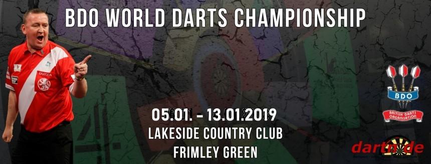 BDO Lakeside World Darts Championship 2019 - BDO Dart WM