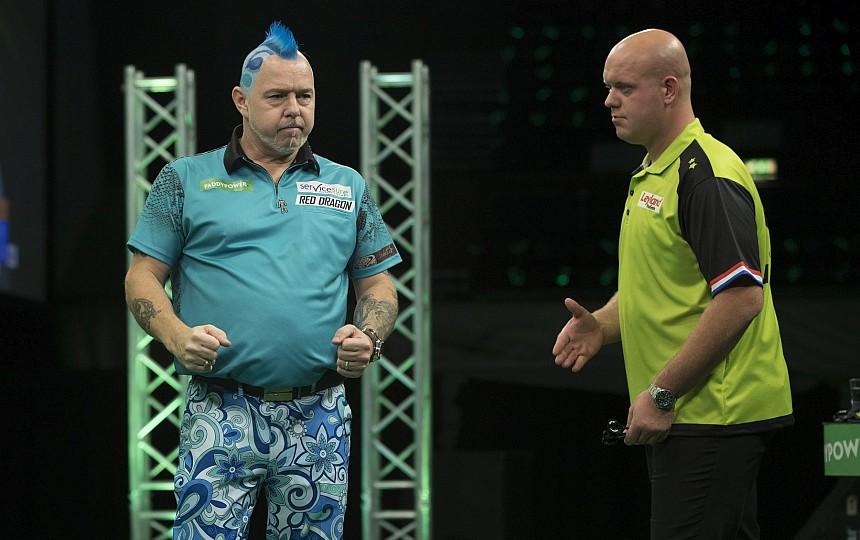 Champions League of Darts 2018 - Halbfinale - Wright besiegt van Gerwen