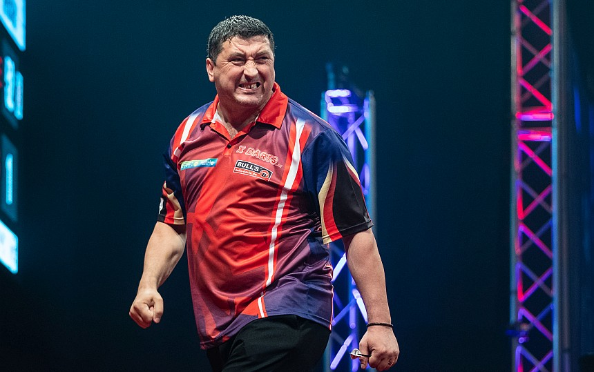 Champions League of Darts 2018 - Tag 1 - Mensur Suljovic