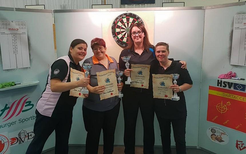 DDV Waterkant Trophy 2018 - Siegerinnen Damen - Samstag
