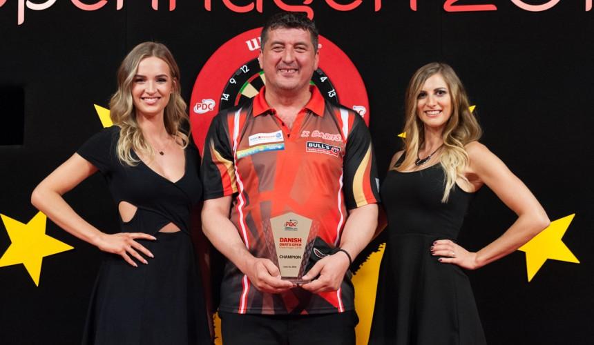 Danish Darts Open 2018 - Turniersieger - Winner - Mensur Suljovic