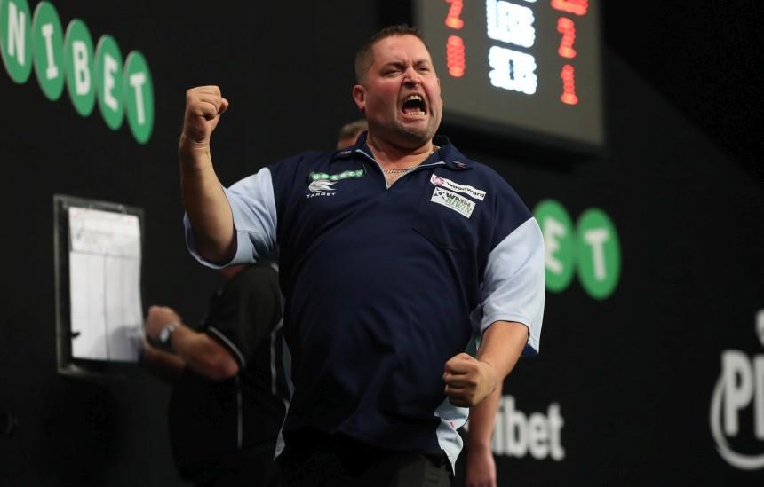 Alan Norris emotional beim Sieg im Entscheidungssatz