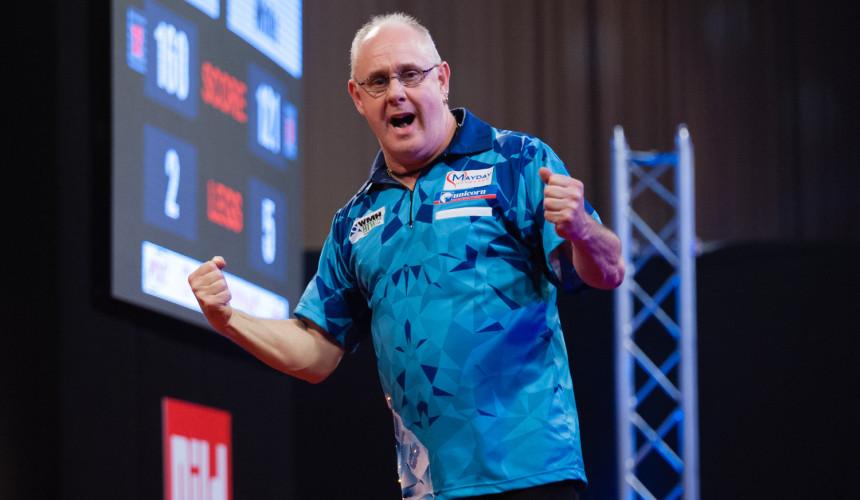 Ian White gewinnt die Dutch Darts Championship 2018