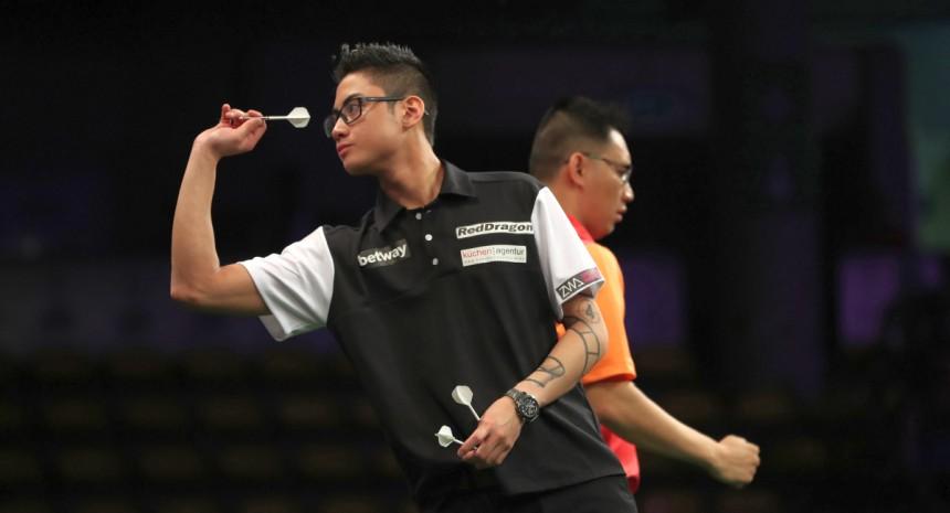 Rowby-John Rodriguez beeindruckte in Runde 1 in Maastricht