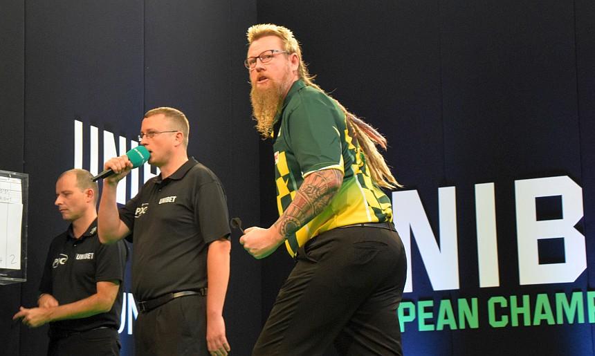Simon Whitlock schlägt die Nr. 2 Peter Wright - European Darts Championship 2018 Dortmund