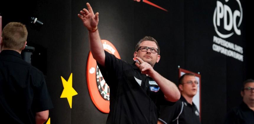 James Wade erreicht das Finale in Sindelfingen 2018