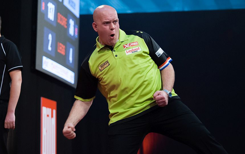 European Darts Matchplay 2018 - Michael van Gerwen - 9-Darter