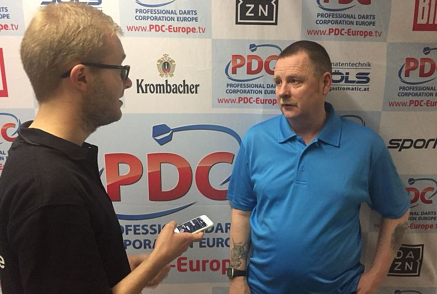 German Darts Open 2018 - Interview - Alan Tabern