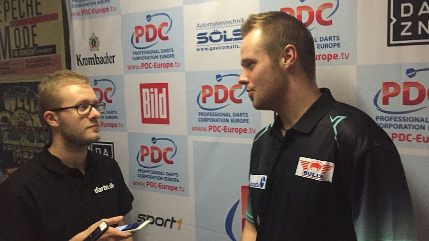 German Darts Open 2018 - Finalinterview - Max Hopp