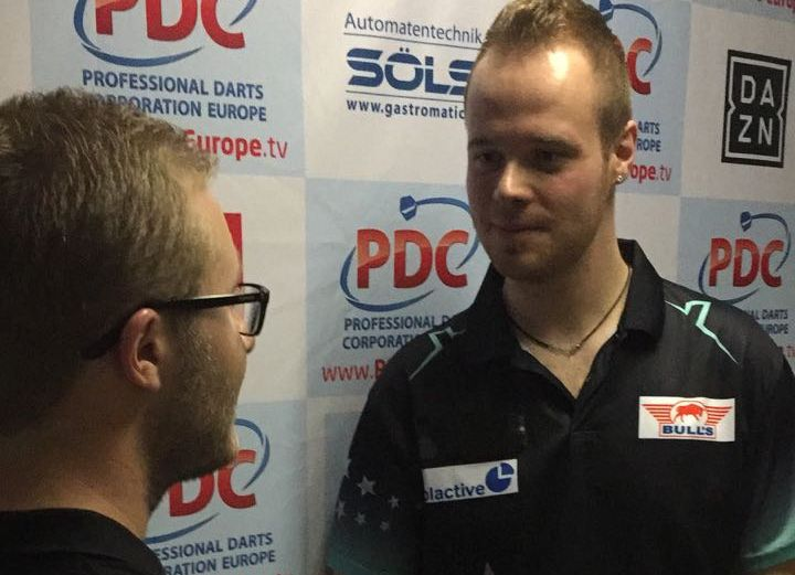 German Darts Open 2018 - Interview - Max Hopp
