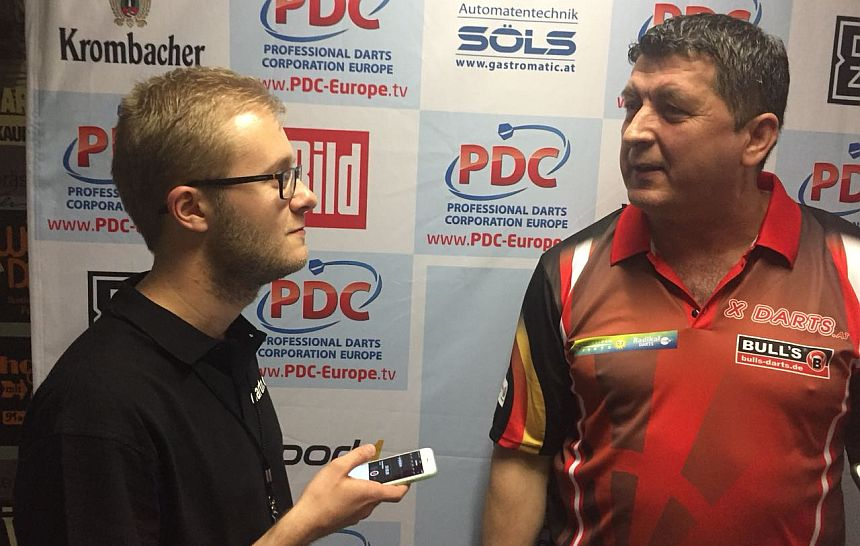 German Darts Open 2018 - Interview - Mensur Suljovic