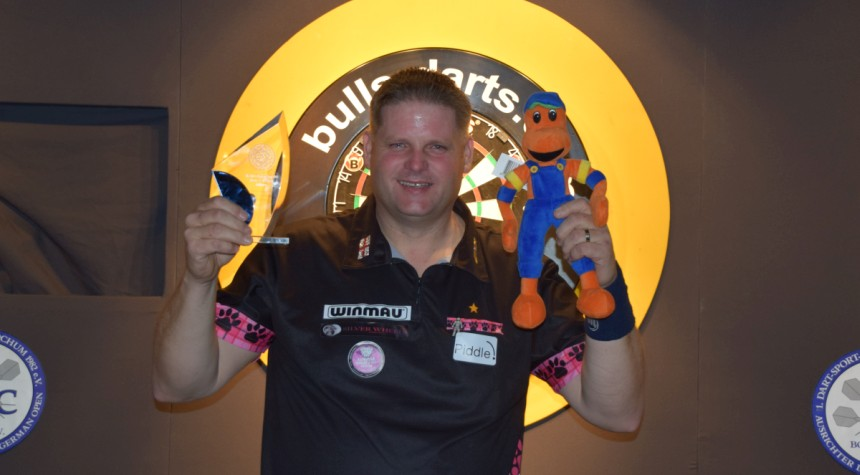 Scott Mitchell gewinnt die Bull's German Open 2018