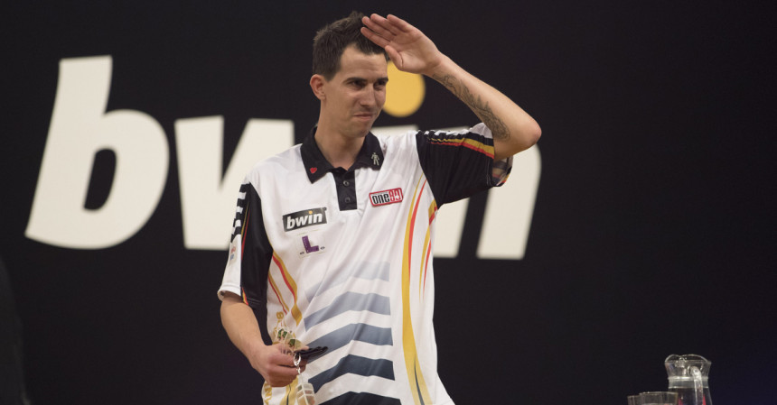 Michael Unterbuchner beim Grand Slam of Darts 2018