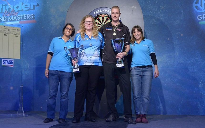 Italian Grand Masters 2018 - Wesley Harms & Aileen de Graaf