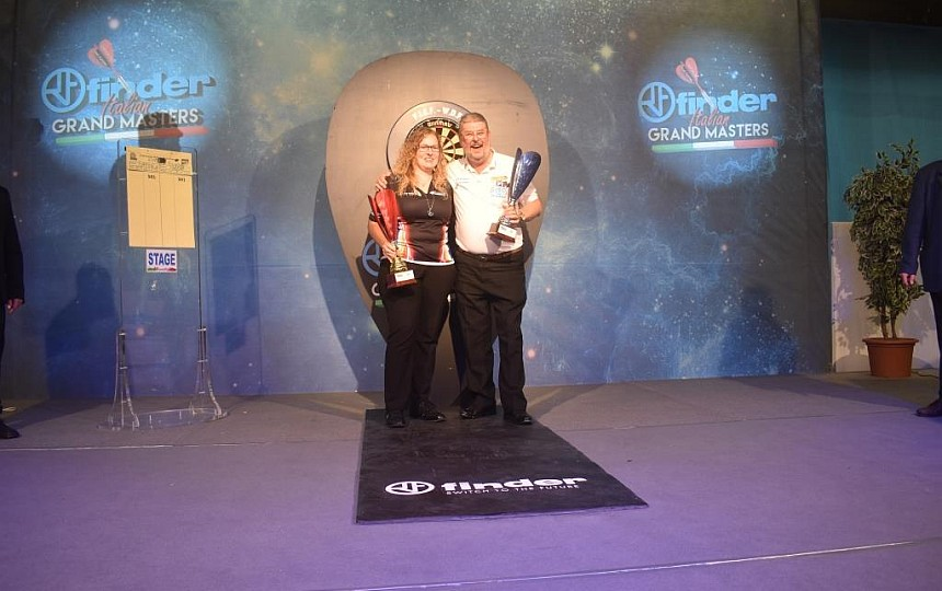 Italian Grand Masters 2018 - Martin Adams & Aileen de Graaf
