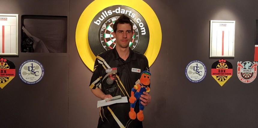 Michael Unterbuchner sicherte sich im Kalkar Platz 2 bei einem Weltranglistenturnier