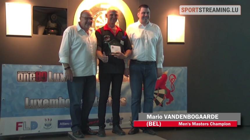 Mario Vandenbogaerde gewinnt die Luxemburg Masters 2018