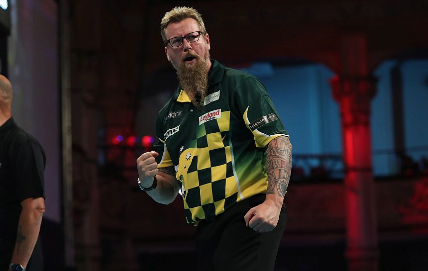Melbourne Darts Masters 2018 - Tag 1 - Simon Whitlock