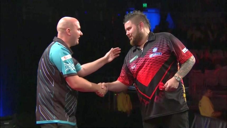 Michael Smith ringt den Weltmeister nieder - Melbourne Darts Masters 2018