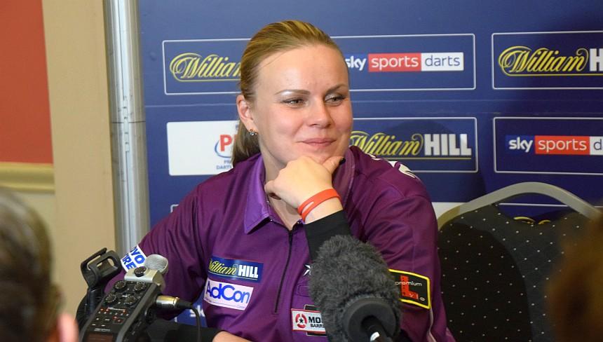 PDC WM 2019 - Tag 5 - Abend - Anastasia Dobromyslova