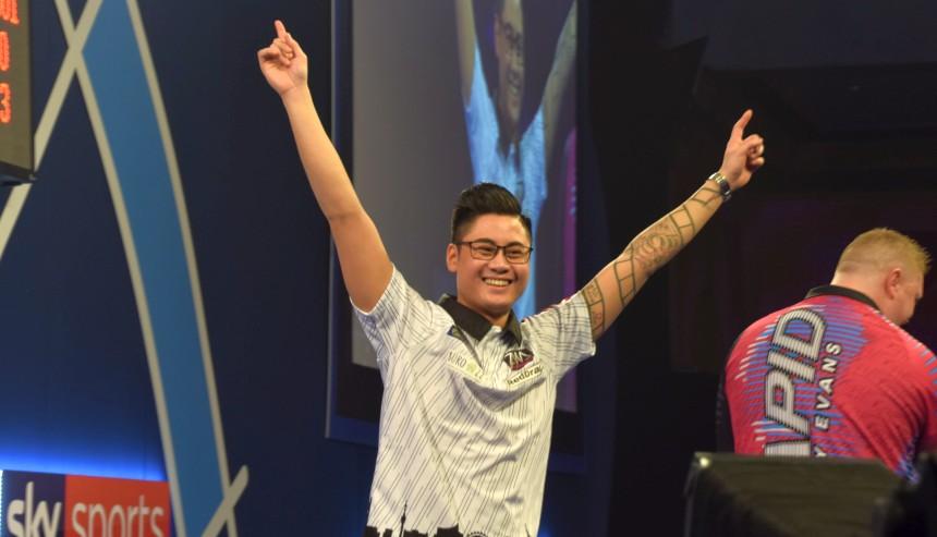 PDC WM 2019 - Tag 6 - Mittag - Rowby-John Rodriguez
