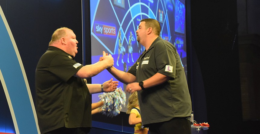 PDC WM 2019 - Tag 9 - Mittag - Clemens & Henderson