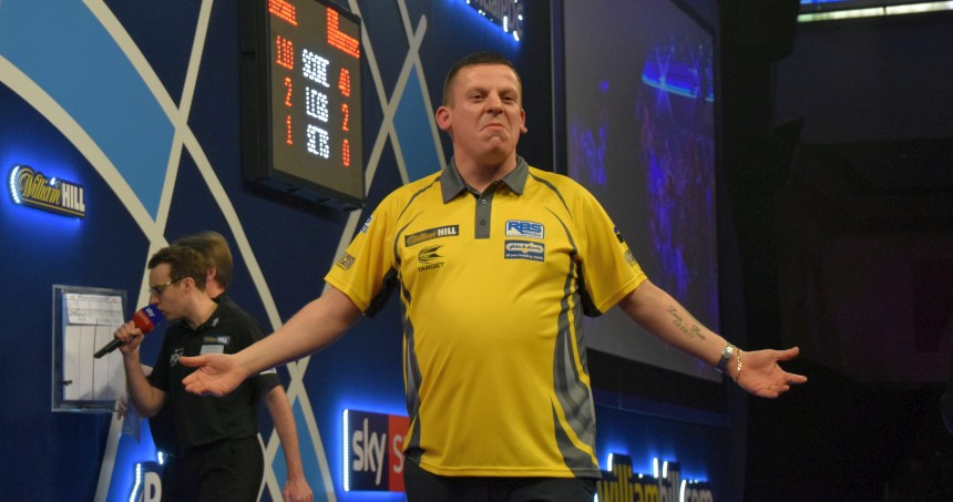 PDC WM 2019 - Tag 10 - Mittag - Dave Chisnall
