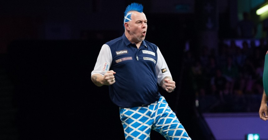 Peter Wright gewinnt Players Championship 14 in Wigan