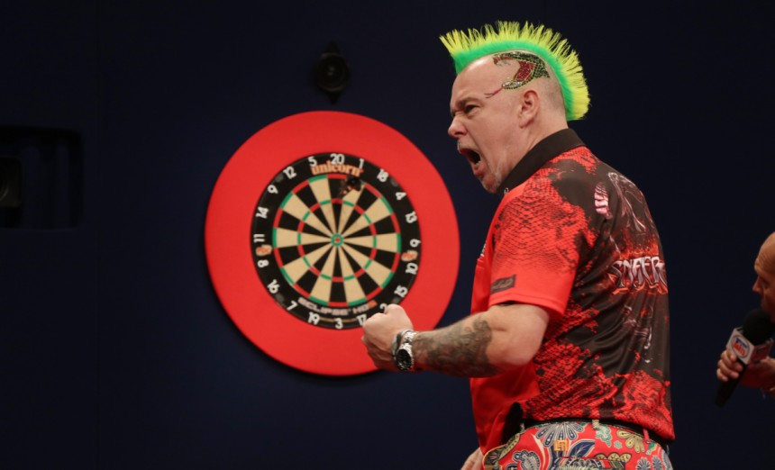 Peter Wright gewinnt die 17 Players Championship 2018 in Barnsley