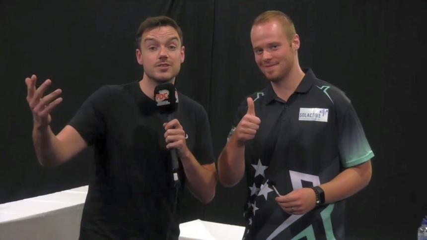 Max Hopp gewinnt die Players Championship Nr 19 in Dublin
