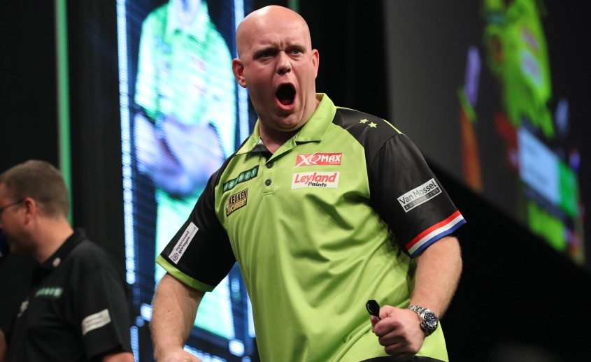 Michael van Gerwen gewinnt Players Championship Turnier 9 in Wigan