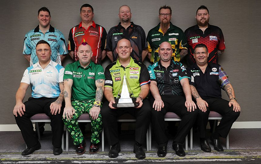Premier League Darts 2018 - Gruppenfoto