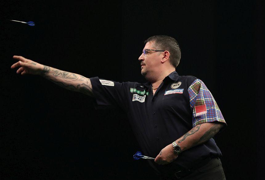 Premier League Darts 2018 - Nottingham - Gary Anderson